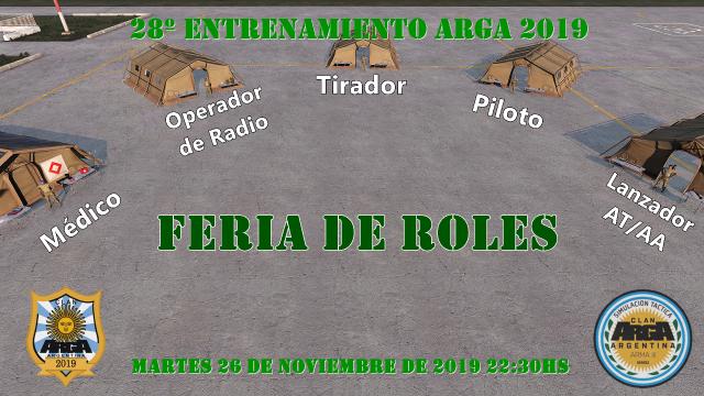 1° Feria de Roles, ArgA 2019.