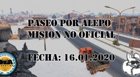 [Briefing] Paseo por Alepo