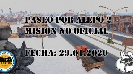 [Briefing] Paseo por Alepo 2