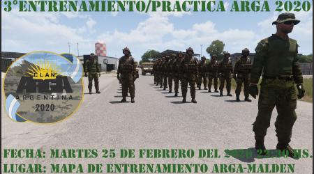 3° Entrenamiento/Practica ARGA 2020