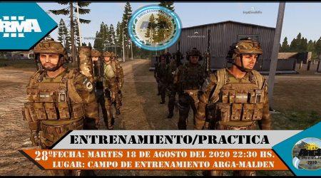 28º Entrenamiento / Practica ArgA 2020.