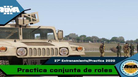 27º Entrenamiento / Practica ArgA 2020.