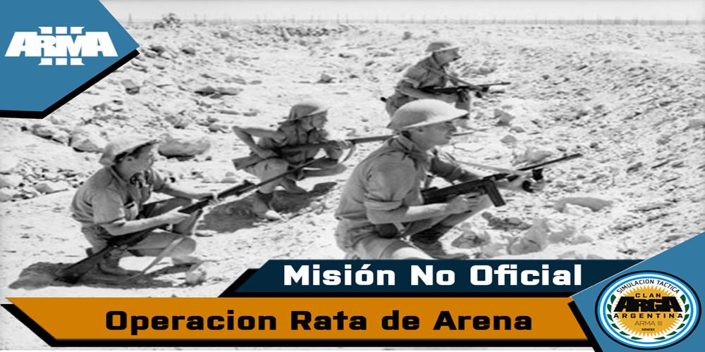 [Briefing] Op Rata De Arena . Mision No Oficial