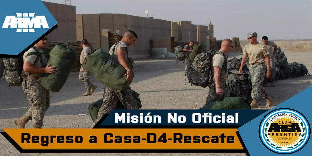 [Briefing] Regreso a Casa, Día 4 Rescate – Mision No Oficial