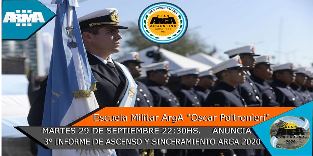 3° Informe de Ascenso y Sinceramiento ArgA 2020
