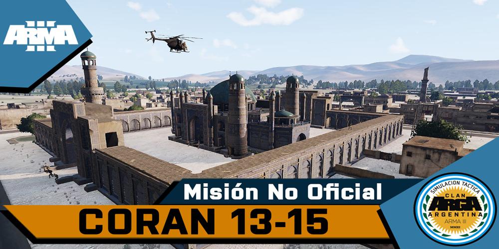 [Briefing] Coran 13/15 – Mision No Oficial