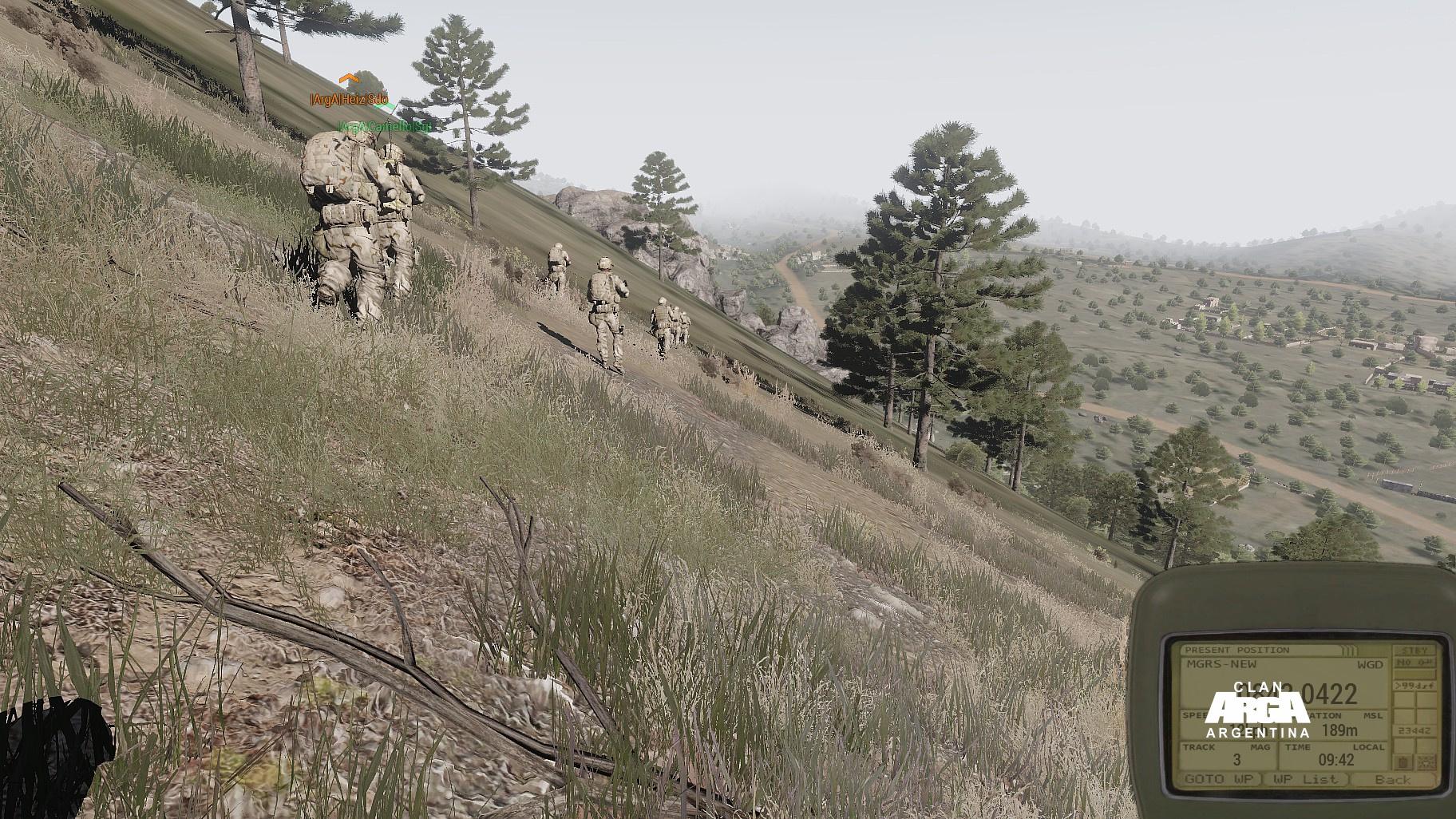 Caminata po'el monte